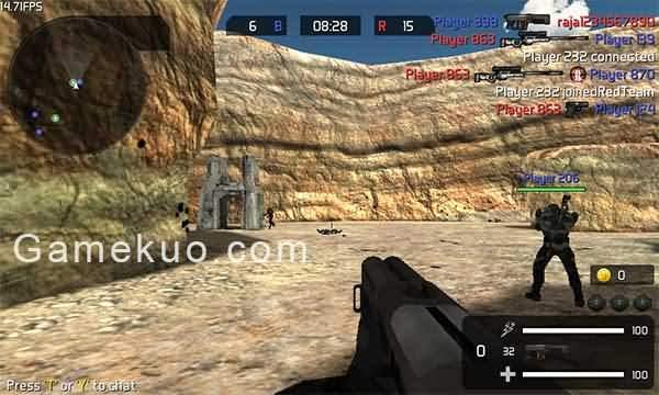 CS對戰版-未來戰警(遊戲畫面)