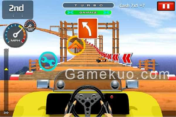 高空越野飛車-遊戲畫面