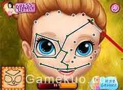 蘇菲亞臉部彩繪-遊戲圖一