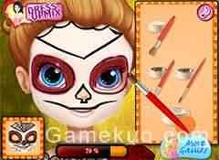 蘇菲亞臉部彩繪-遊戲圖二
