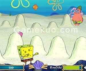 海綿寶寶沙丘大戰-遊戲圖