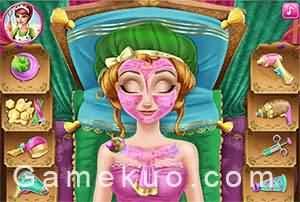 冰雪安娜美容護膚遊戲圖1