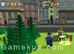 樂高警察抓小偷 (Thief Raid) 遊戲圖片