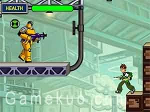 Ben 10外星英雄-遊戲圖