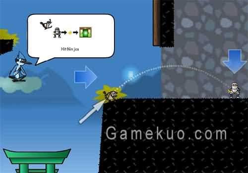 天兵公園逃離忍道場(Escape From Ninja Dojo)遊戲圖