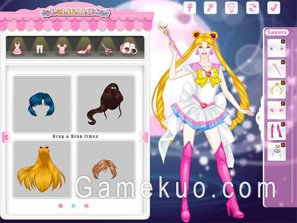 芭比美少女戰士(Barbie Sailor Moon)遊戲圖