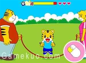 巧虎和爸爸在公園玩-遊戲圖二