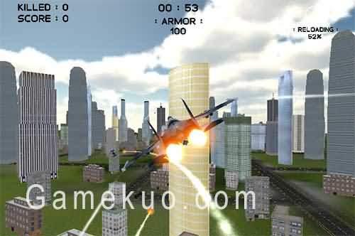 3D城市空戰(Air War 3d City Warfare)遊戲圖