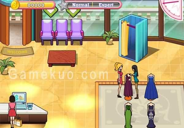 經營女生禮服店-遊戲圖