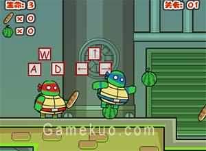 忍者神龜拯救紐約-遊戲圖