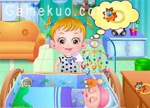 可愛寶貝給嬰兒打疫苗(Baby Hazel Newborn Vaccination)遊戲圖