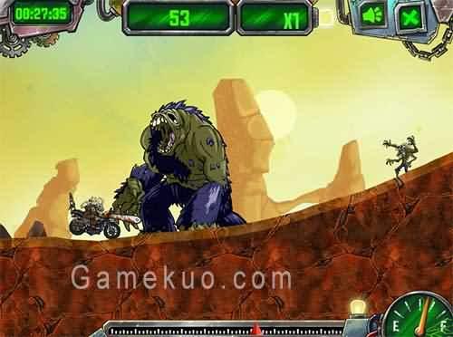 末日摩托啟示錄無敵版(Dirtbike Apocalypse)遊戲圖