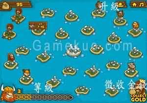 冰封的島嶼戰爭(Frozen Islands)遊戲圖一