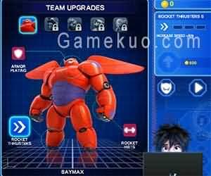 超能陸戰隊(Baymax Sky Patrol Big Hero 6)遊戲圖一