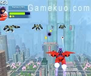 超能陸戰隊(Baymax Sky Patrol Big Hero 6)遊戲圖二