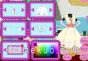 芭比娃娃的公主裙(baby Barbie Princess dress )遊戲圖