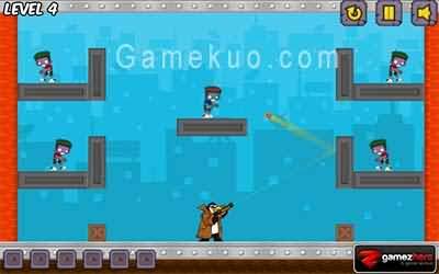 企鵝大戰殭屍3(Zombies vs Penguins 3)遊戲圖