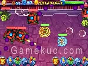 鎧甲勇士燃燒戰車無敵版-遊戲圖