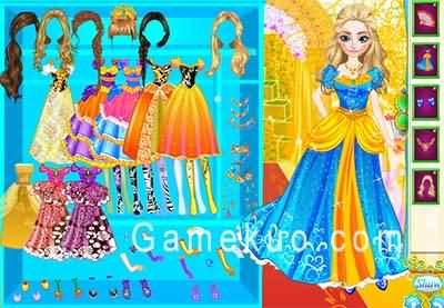 安娜皇家禮服裝扮(Anna Royal Dress Up)遊戲圖