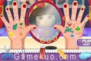 dora治療手傷(Dora Hand Doctor)遊戲圖二