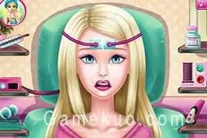 芭比腦部手術(barbie brain surgery)遊戲圖
