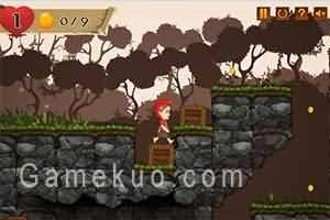 小紅帽森林冒險(Red Girl In The Woods)遊戲圖
