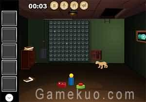 小狗密室逃脫(The Doggy Door Escape)遊戲圖