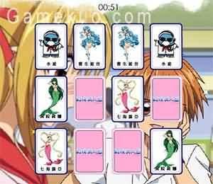 真珠美人魚翻牌-遊戲圖