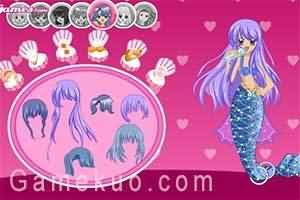 真珠美人魚換裝(Mermaid Melody)-遊戲圖二