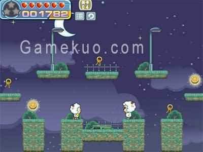 喜羊羊顛倒世界-遊戲圖