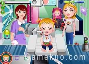 可愛寶貝看牙醫(Baby Hazel Gums Treatment)遊戲圖
