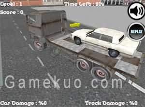 汽車運輸卡車(Car Transporter Truck)遊戲圖