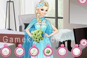 新娘艾莎和伴娘安娜小遊戲(Bride Elsa And Bridesmaid Anna)遊戲圖一