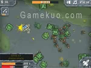 坦克裝甲突擊(Panzer Assault)遊戲圖