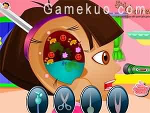 Dora看耳科醫生(Dora Ear Doctor)遊戲圖