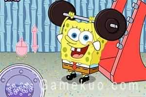 海綿寶寶愛健身(Sponge Out Of Water)遊戲圖