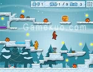 熊出沒之雪嶺雙熊-遊戲圖