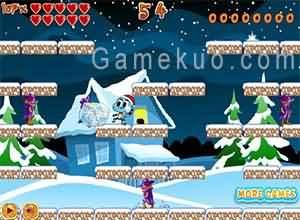 陶阿甘冰雪大闖關(Gumball Snowbrawl)遊戲圖