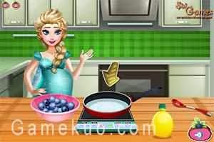 懷孕的艾莎做冰淇淋(Pregnant Elsa Ice Cream Cravings)遊戲圖