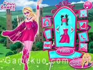 芭比超級公主(Barbie Super Princess)遊戲圖