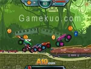 怪物車輪2(Monsters Wheels 2)遊戲圖