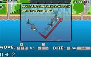 瘋狂大白鯊(Destructo Shark)遊戲圖