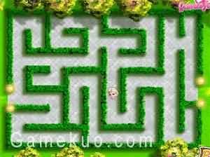 艾莎迷宮逃生(Elsa Labyrinth Escape)遊戲圖
