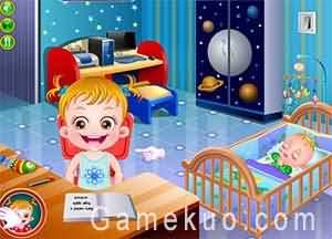 可愛寶貝給弟弟驚喜(Baby Hazel Sibling Surprise)遊戲圖