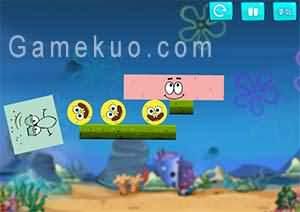 海綿寶寶擠走章魚哥(Spongebob Excludes Squidward)遊戲圖