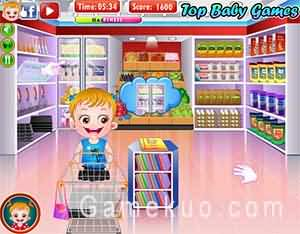 可愛寶貝烹飪時間(Baby Hazel Cooking Time)遊戲圖