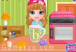 芭比寶貝DIY禮物(Baby Barbie Diy Gift)遊戲圖
