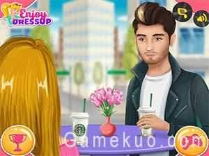 女孩的甜蜜約會(Zayn Malik Date Simulator)遊戲圖