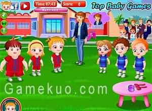 可愛寶貝運動會(Baby Hazel Sports Day)遊戲圖