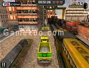 3D火車站停車(Train Station 3d Parking)遊戲圖
